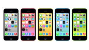 Les nouveaux iPhone 5C d'Apple (2013)