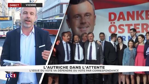 """Présidentielle en Autriche : moins de 0,1 % d'écart, """"il va falloir recompter"""""""