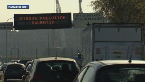 Alerte pollution en île-de-France