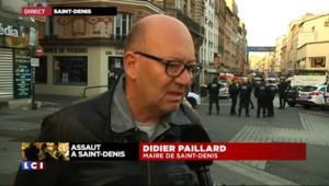 """Assaut à Saint-Denis : """"Le coeur de ville est arrêté"""", le message du maire aux habitants"""