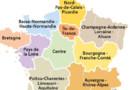 Carte des nouvelles régions, issues de la réforme territoriale.