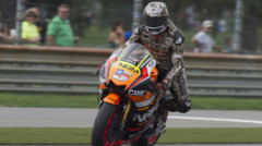 Colin Edwards (Forward Yamaha) au MotoGP 2014 Indianapolis