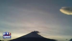 Le volcan Popocatepetl est entré en éruption