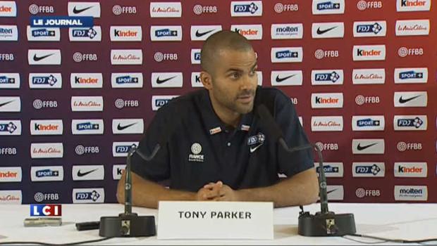 """Tony Parker espère que son œil """"va guérir vite"""""""