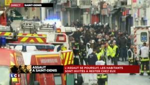 """Assaut à Saint-Denis : """"Il y a eu des snipers sur notre toit"""", le témoignage d'une riveraine"""