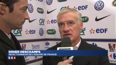 "France/Danemark : pour Deschamps, ""on a un peu trop subi"""
