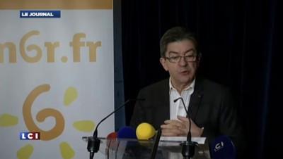 """Mélenchon : """"La France est trop grande pour"""" Hollande"""
