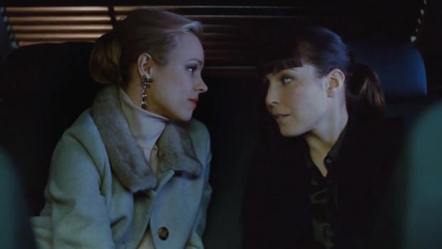 Rachel McAdams et Noomi Rapace dans le film Passion de Brian de Palma