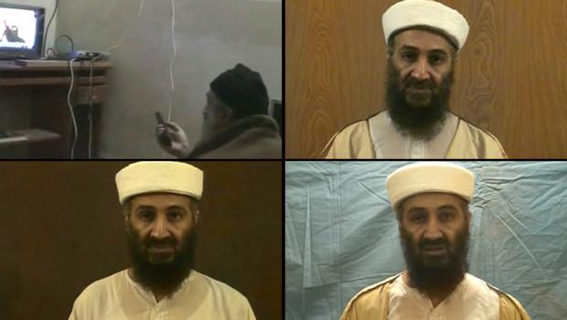 Capture d'écran des vidéos de ben Laden que les Etats-Unis ont diffusées le 7 mai 2011 saisies chez lui après le raid du commando américain au Pakistan