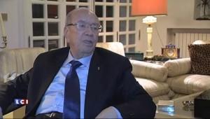 """Essebsi, nouveau président tunisien : l'Europe n'est """"pas à l'abri du terrorisme"""""""