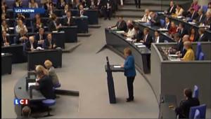L'Allemagne unie derrière Angela Merkel