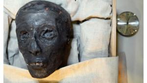La momie de Toutankhamon