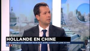 """Visite de Hollande en Chine : """"On a tout à gagner à travailler avec la Chine"""""""