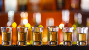 Alcool shooters shots bar ivre ivresse
