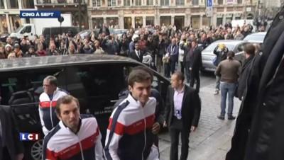 Coupe Davis : Monfils se méfie de Federer