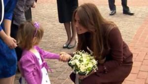 Kate Middleton en visite dans le nord de l'Angleterre, le 5 mars 2013.