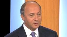 Laurent Fabius lors du 2nd débat PS - TF1/LCI