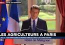 """Manuel Valls : """"Les difficultés du monde agricole nous les connaissons"""""""