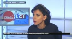 Rachida Dati, sur LCI, le 9/10/14