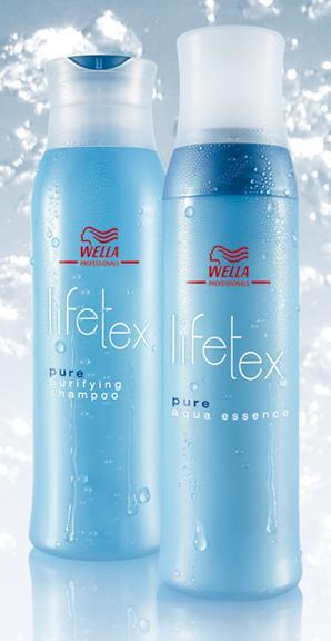 Le shampooing et après-shampooing Wella Lifetex Pure