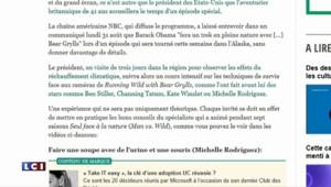 Barack Obama va participer à une télé-réalité d'aventure aux côtés de Bear Grylls !