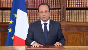 François Hollande dans sa déclaration TV du 26 mai 2014