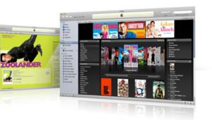 La plateforme en ligne iTunes Vidéo