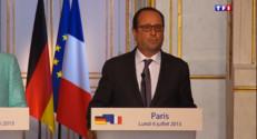 """Le 20 heures du 6 juillet 2015 : Dette grecque : """"La porte est ouverte aux discussions"""", déclare Hollande - 601"""