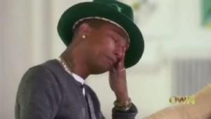 Pharrell Williams s'effondre en larmes chez Oprah Winfrey