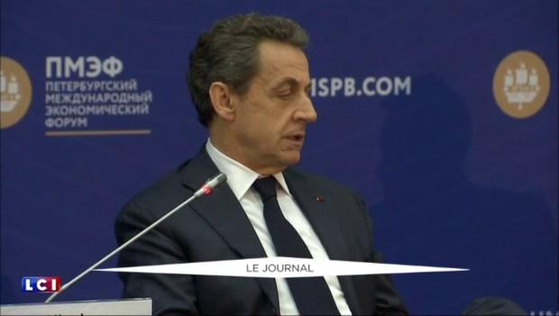 """Sarkozy à Poutine : """"Levez les sanctions"""" sur les produits alimentaires européens"""