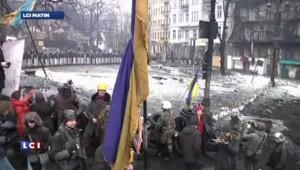 Ukraine : des livres pour occuper les manifestants