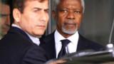 Bachar Al-Assad reçoit Kofi Annan sous les bombes...