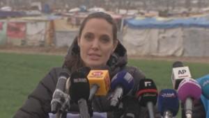 5e anniversaire du conflit syrien : Angelina Jolie à la rencontre de réfugiés au Liban (15/03)