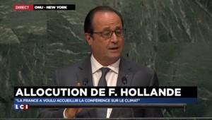 """COP 21 : Hollande annonce que """"les financements dépasseront 5 milliards d'euros en 2020"""""""