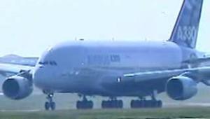 l'A380 s'élance