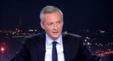 """Le 20 heures du 22 septembre 2014 : Bruno Le Maire : """"Je compte gagner"""" la pr�dence de l'UMP - 1033.605"""