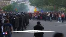 Loi Travail : des heurts dans le cortège parisien, 36 personnes interpellées