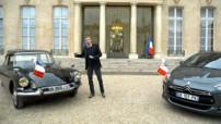 Teaser de l'émission du dimanche 11 janvier 2015 sur le thème des voitures présidentielles pour fêter les 40 ans d'Automoto !