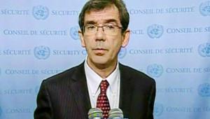 Jean-Maurice Ripert, ambassadeur de France, au Conseil de sécurité (4 janvier 2008)