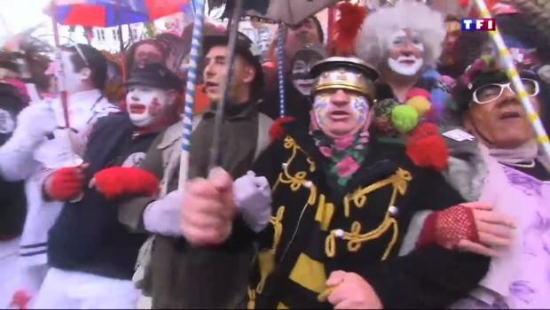 Le carnaval de Dunkerque, une vague humaine haute en couleur