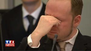 Les larmes de Breivik