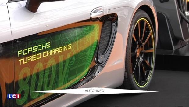 """""""Mission E"""" : une Porsche 100% électrique, 100% performante"""
