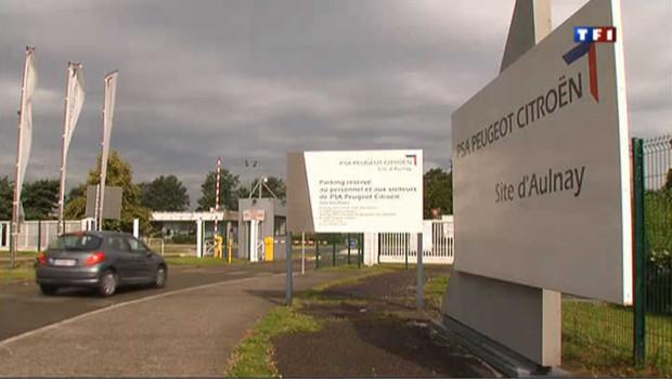 Usine d'Aulnay-sous-Bois de PSA Peugeot Citroën