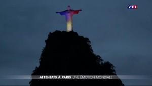 Attentats à Paris : l'hommage du monde à la France