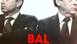 """Couverture du livre """"Bal tragique à l'UMP"""""""