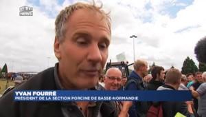 """Éleveurs en colère :""""on demande un logo fromage français"""""""