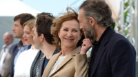 """Nathalie Baye et Vincent Cassel pour le photocall de """"Juste la fin du monde"""""""