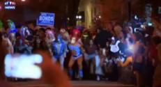 """Une course de drag queens très """"Halloween"""" sur talons aiguilles"""
