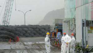 Archives : ouvriers à la centrale de Fukushima, 12/6/13