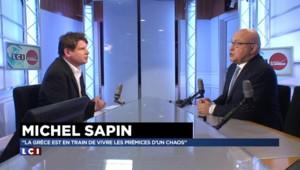 """Crise de la Grèce : """"La France n'est pas isolée, elle est à la manoeuvre"""" assure Michel Sapin"""